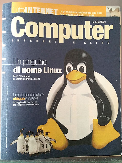 copertina computer internet repubblica